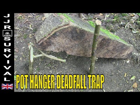 POT HANGER DEADFALL TRAP