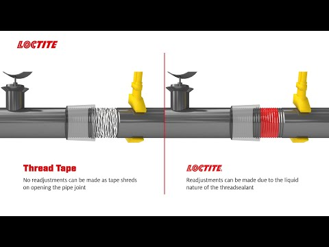 Benefits of Using LOCTITE Thread Sealants Over Conventional Sealants