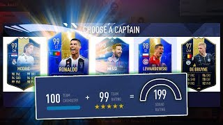 THIS DRAFT IS INSANE! - HIGHEST RATED FUT DRAFT CHALLENGE - FIFA 19 Ultimate Team