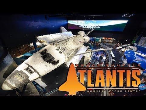ATLANTIS - Space Shuttle Experience at Kennedy Space Center