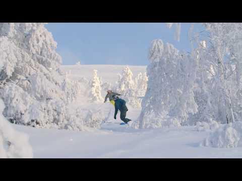 Äkta vinter i Lofsdalen