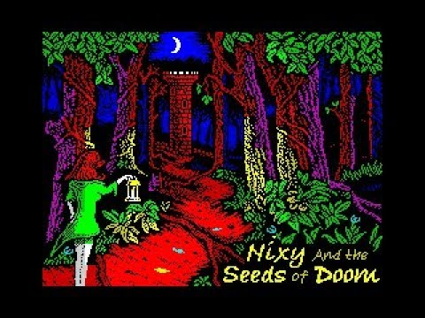 Canal Homebrew: Nixy and the Seeds of Doom (Andrew Johns/BubbleSoft Games) Spectrum