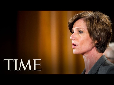 President Trump Fires Acting Attorney General Sally Yates After She Defied Immigration Order   TIME