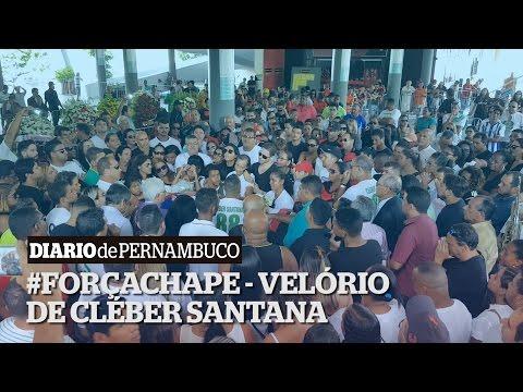 Pernambucanos se despedem de Cléber Santana