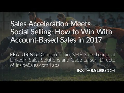 SALES ACCELERATION MEETS SOCIAL SELLING: HOW TO WI