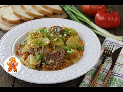 Слоенка Картофельная с Мясом