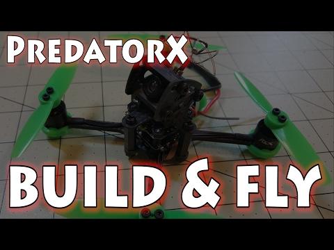 Tomoquads PredatorX Micro Racing Drone - UCnJyFn_66GMfAbz1AW9MqbQ