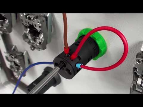 Hvordan monterer du en Harmony XB5 lydgiver?