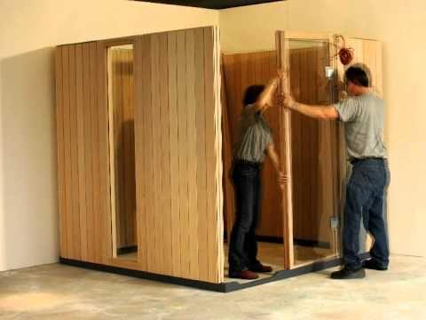 KLAFS Sauna, Spa, Wellness: Aufbau Sauna HOME