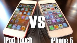 size 40 57478 f240d iPod Touch 5th Gen & iPhone 5 Comparison (Design,Speed, & Camera  Comparison) + Brief Review