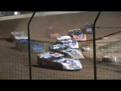 Super Late Model A-Main from Portsmouth Raceway Park, August 28th, 2021. - dirt track racing video image