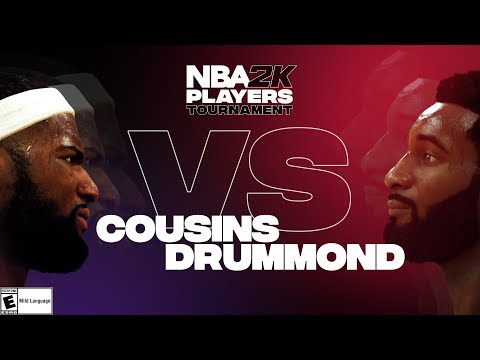 NBA2K Tournament Full Game Highlights: Demarcus Cousins vs. Andre Drummond