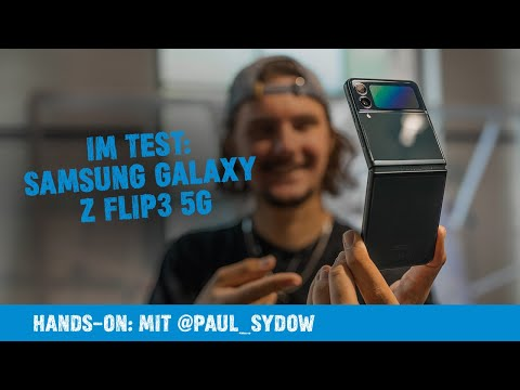 Hands on: Samsung Galaxy Z Flip3 5G 128GB Review   Paul Sydow
