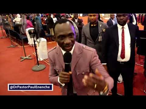 Dr Paul Enenche discerned and exposed Two Fraudsters in Dunamis
