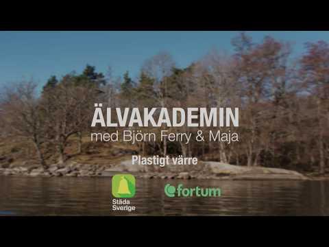 Älvakademin med Björn Ferry och Maja (1 av 4) Plastigt värre.