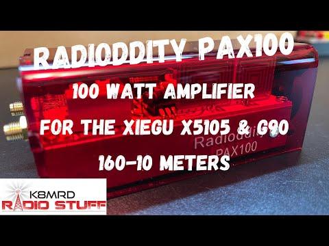 The new Radioddity PAX100 Amplifier | Xiegu X5105 & G90 100 watt amplifier.