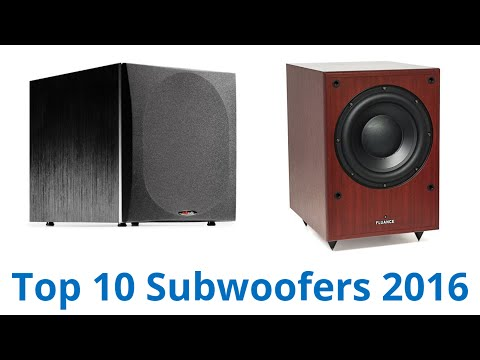 10 Best Subwoofers‎ 2016 - UCXAHpX2xDhmjqtA-ANgsGmw