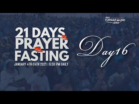 DOMI STREAM: DAY 16  ANNUAL PRAYER & FASTING  19, JANUARY 2021  FAITH TABERNACLE OTA