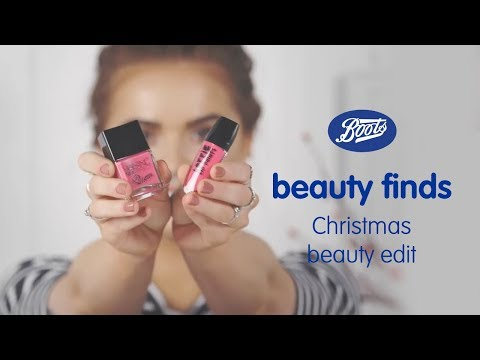 boots.com & Boots Discount Code video: Christmas Beauty Edit ~ Boots Beauty Finds