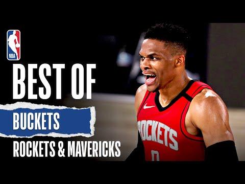 Best Of Buckets From Rockets & Mavericks High-Scoring OT Thriller!