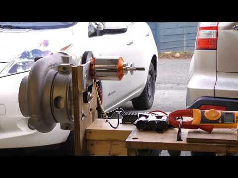 Turbocharger compressor electric drive experiments - Part 1 - UCMdOWi6nBZJ3Q0tHNQIOUVA