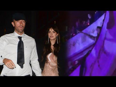 Watch Chris Martin Call Dakota Johnson His UNIVERSE