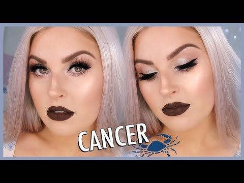 Cancer Makeup Look ? ZODIAC SIGNS SERIES ??