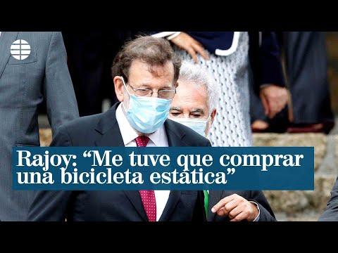 Rajoy confiesa que no le llegó la multa por salir en el confinamiento