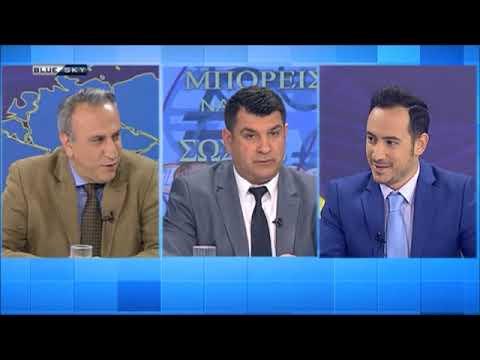 Δημήτρης Μιχάκης στο Blue Sky με το Γαβρήλο Χαλικιώτη (16-5-2019)