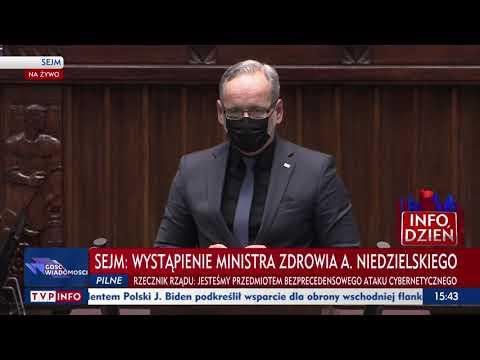 Minister zdrowia Adam Niedzielski o planowanych podwyżkach w służbie zdrowia