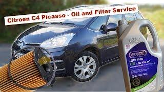 Sostituzione olio Citroen C4 Grand Picasso 1.6 HDI
