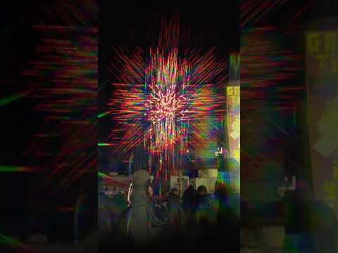 3D FIREWORKS ??!? THE RED RIVER EX 2019
