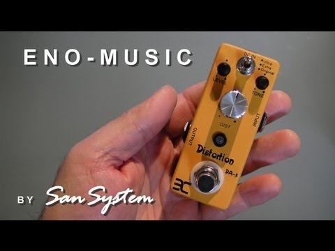 Guitar Effects - ENO MUSIC DA-3 Distortion