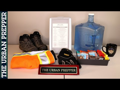 Emergency Kit for your Workplace | Office EPK | Basic Supplies