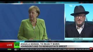 Merkel plans to reject BoJo's Brexit re-negotiation bid