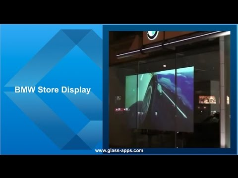 Glass Apps® BMW Store Display
