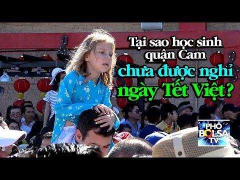 Tại sao học sinh các trường ở quận Cam chưa được nghỉ ngày Tết Việt?