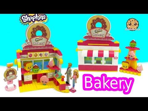 Barbie & Ken Go To Shopkins Bakery Shop Kinstructions Building Set - Toy Video - UCelMeixAOTs2OQAAi9wU8-g