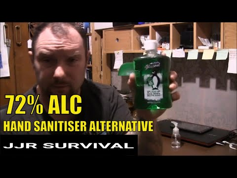 HAND SANITISER ALTERNATIVE