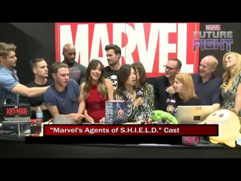 Marvel's Agents of S.H.I.E.L.D. Takes Over Marvel LIVE! at San Diego Comic-Con 2015 - UCvC4D8onUfXzvjTOM-dBfEA
