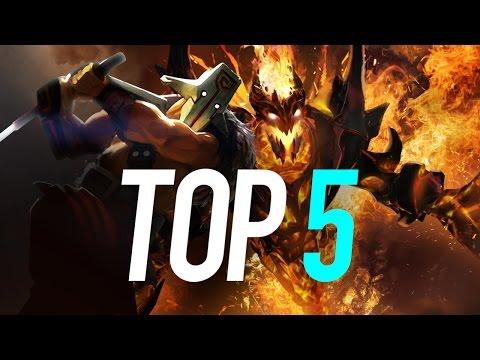 Top 5 Dota 2 Plays of 2016...So Far