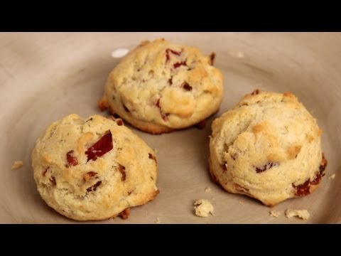 Bacon Parmesan Cookies - Recipe by Laura Vitale - Laura in the Kitchen Episode 292 - UCNbngWUqL2eqRw12yAwcICg