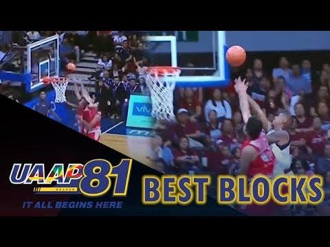 UAAP 81: Best Blocks | UAAP 81 Exclusive