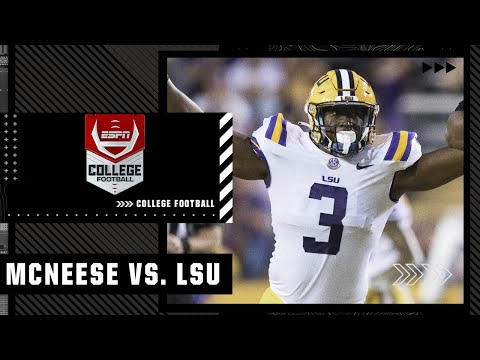 McNeese Cowboys at LSU Tigers   Full Game Highlights