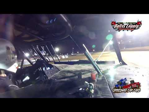 #13 Laine Dobbs - Midwest Mod - 4-30-2021 Dallas County Speedway - In Car Camera - dirt track racing video image