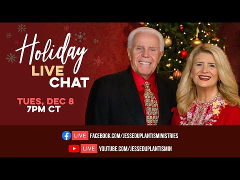 Holiday Live Chat with Jesse and Cathy