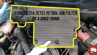 Sostituzione filtro aria motore Ford Fiesta Mk6
