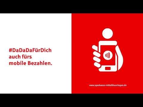 #DaDaDaFürDich auch fürs mobile Bezahlen.
