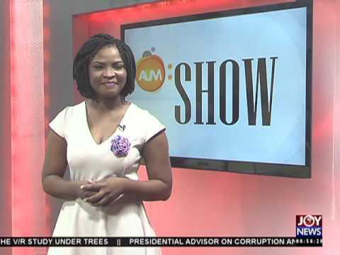 Beautiful Ruins - AM Showbiz on Joy News (26-5-16)