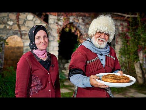 Чеченская лепешка - очень вкусная и простая в приготовлении!
